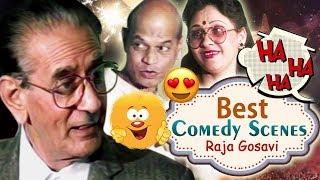 Raja Gosavi | Best Comedy Scenes Compilation | Superhit Comedy Natak | Magata Thodi Gheta Khup