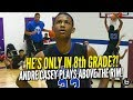 14 Year Old Plays Above The Rim! 6'7 Andre Casey Jr. CRAZY Middle School Highlights!