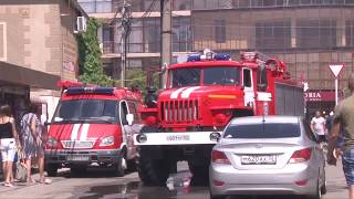 В Анапе тушили пожар в плавнях