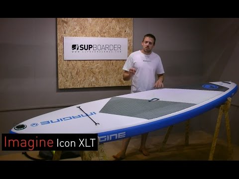 Reviewed – Imagine Icon XLT 10'2'' inflatable SUP Board