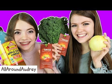 Trying The MIRACLE BERRY With EXTREME SOUR And BITTER Foods! / AllAroundAudrey