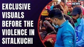Assembly Elections 2021 | CNN-News18 Access Visuals Of Sitalkuchi Incident | Cooch Behar |CNN News18