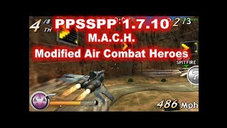 PPSSPP 1.7.10 - M.A.C.H   Modified Air Combat Heroes