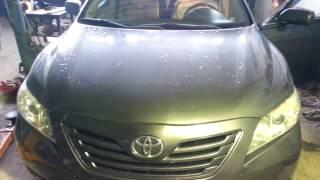 Toyota Camry 40 -2,4  Стук в рулевой рейке (колонке).Как определить и устранить .