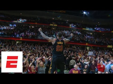 LeBron James calls game with buzzer-beating 3-pointer to win Game 5 of Cavaliers vs. Pacers | ESPN