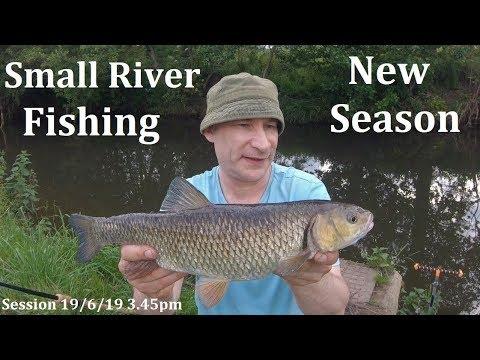 Small River Chub Fishing - New Stretch, New Season...FINALLY! - 19/6/19 (Video 116)