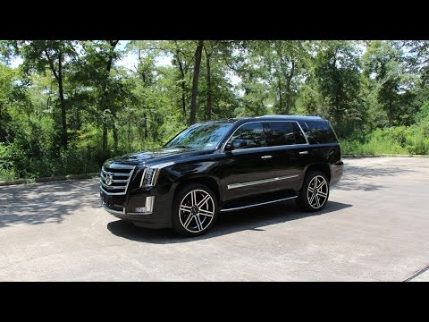 2015 Cadillac Escalade - Review in Detail, Start up, Exhaust Sound, and Test Drive