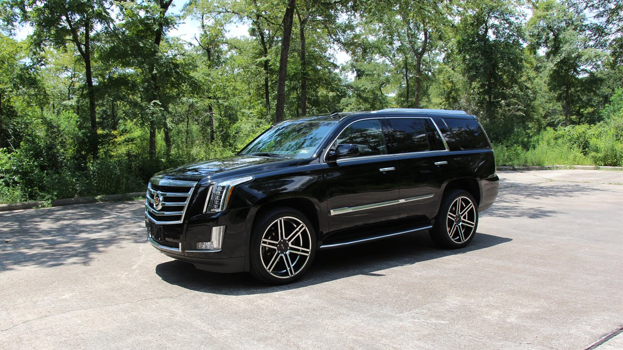 2015 Cadillac Escalade Review In Detail Start Up Exhaust Sound