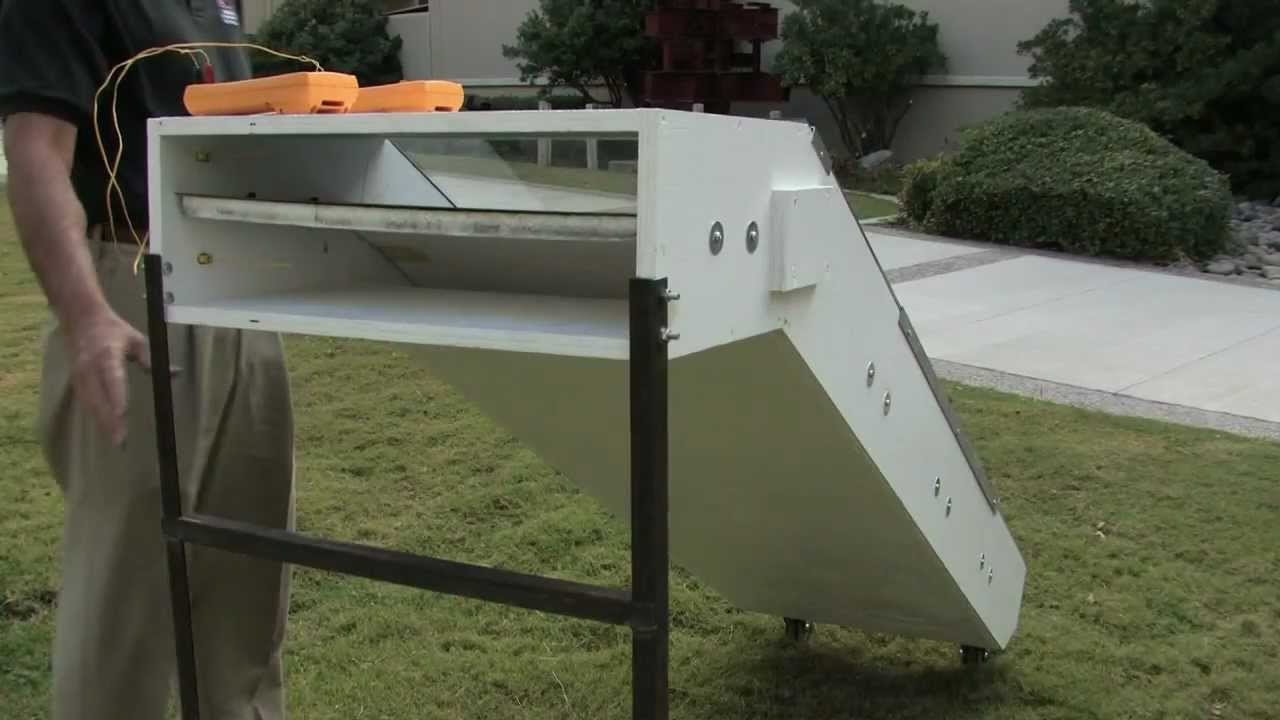 Renewable Energy Solar Air Heater Youtube