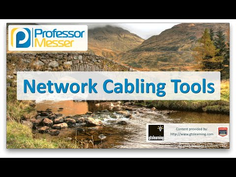 Network Cabling Tools - CompTIA Network+ N10-006 - 1.5
