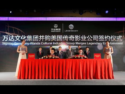 Chinese Wanda Conglomerates U.S. Legendary Entertainment for $3.5 Billion