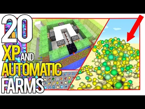 20 Minecraft XP Farms and Automatic Farms