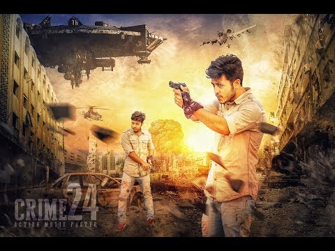Action Movie Poster Design in Photoshop - Hass Hasib Tutorial