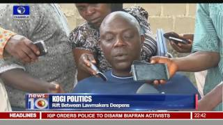News@10: Kogi Assembly Crisis Deepens 31/05/16 Pt.3