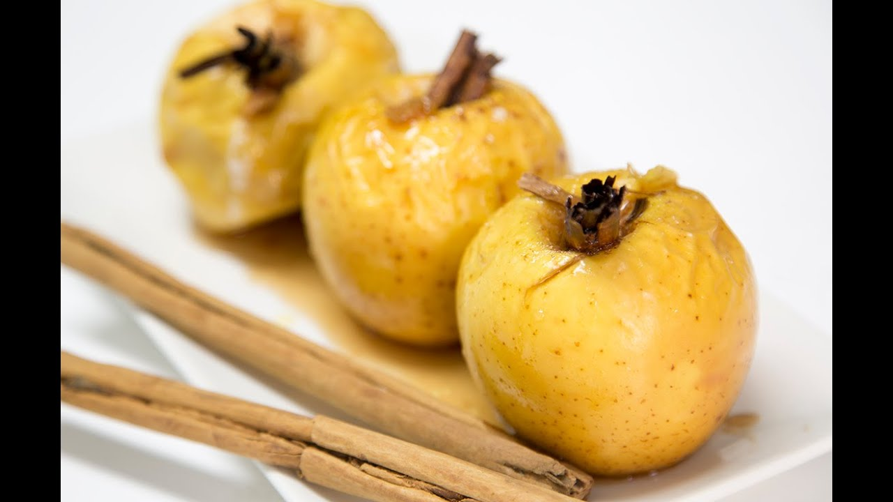 Manzana asada es astringente