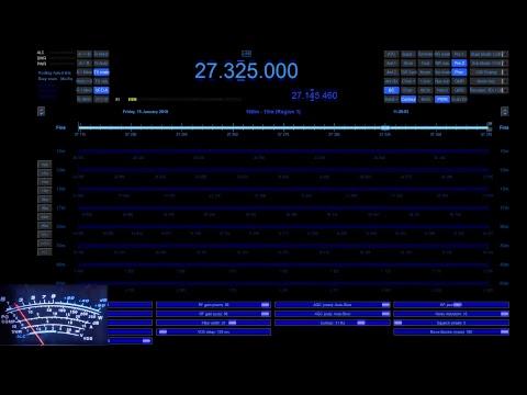 11meterdx Live Stream 19-1-2018 35LSB etc (27mHz Aussie CB radio)