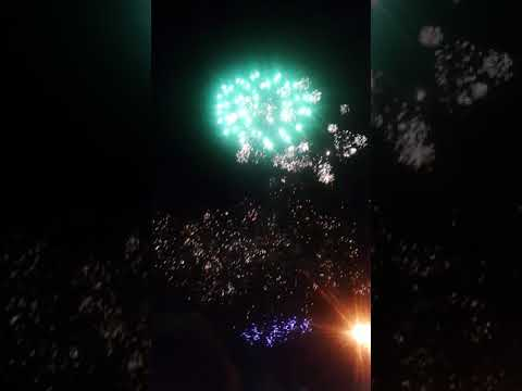 BUDE LIFEBOAT DAY FIREWORKS