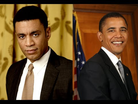 famous actor Harry Lennix trained Obama to act.