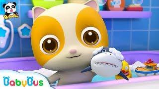 La Canción del Baño del Bebé Gatito | Canciones Infantiles | BabyBus Español