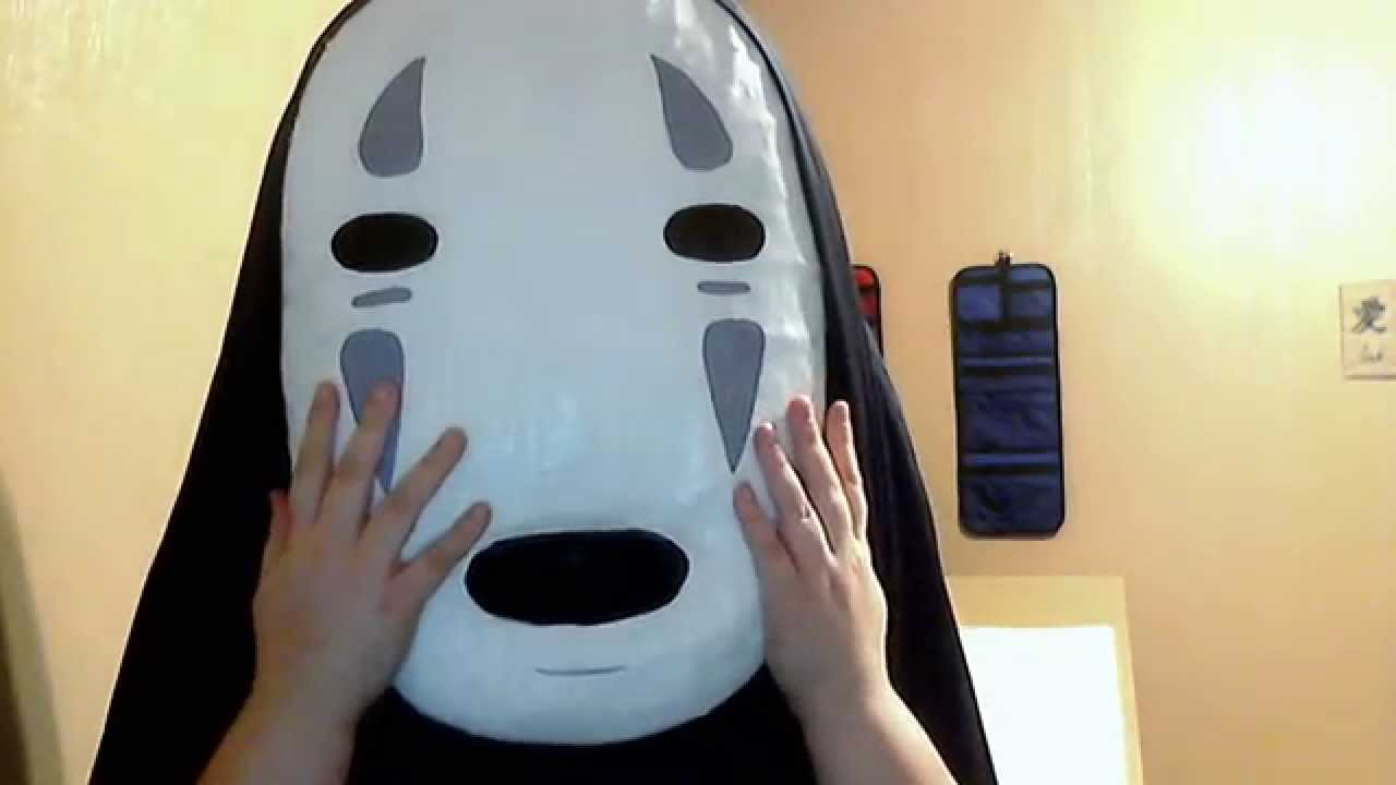 no face cosplay spirited away youtube. Black Bedroom Furniture Sets. Home Design Ideas
