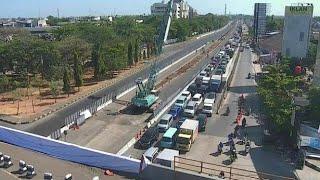 Pembangunan Jalan Tol Pettarani Makassar dimulai