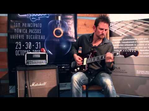 Salon des luthiers Issoudun 2015 - Fredamp silver 15h par Brice Delage