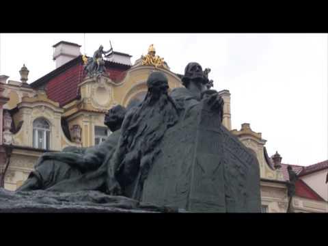 Ladislav Šaloun; Statue of Jan Hus, Prague, Praha