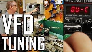 Lathe VFD Addendum: How to Tune Acceleration and Braking