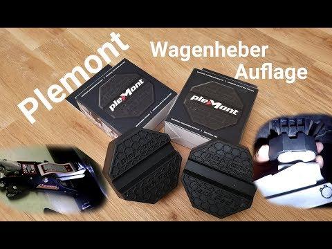 Wagenheber-Gummiauflage Plemont Jack Pad Unboxing und Review