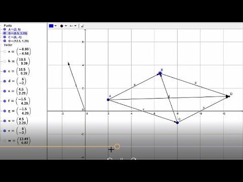 Suma de vectores por el método analítico (componentes rectangulares) ejemplo 2 de 3 | Física from YouTube · Duration:  8 minutes 25 seconds
