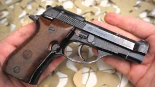 Beretta Model 81 BB  32 ACP Semi Auto Pistol Overview - Texas Gun Blog