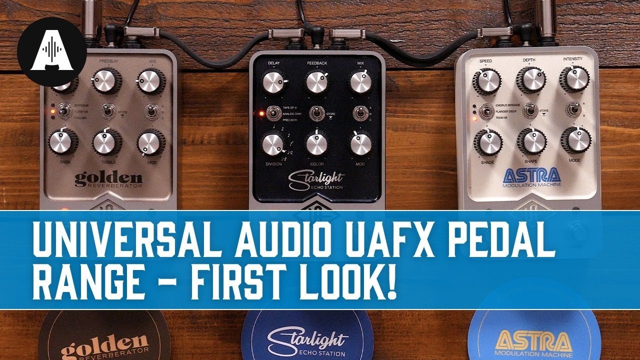 Universal Audio Guitar Pedals - Will UAFX Be The New No.1 Pro Choice?