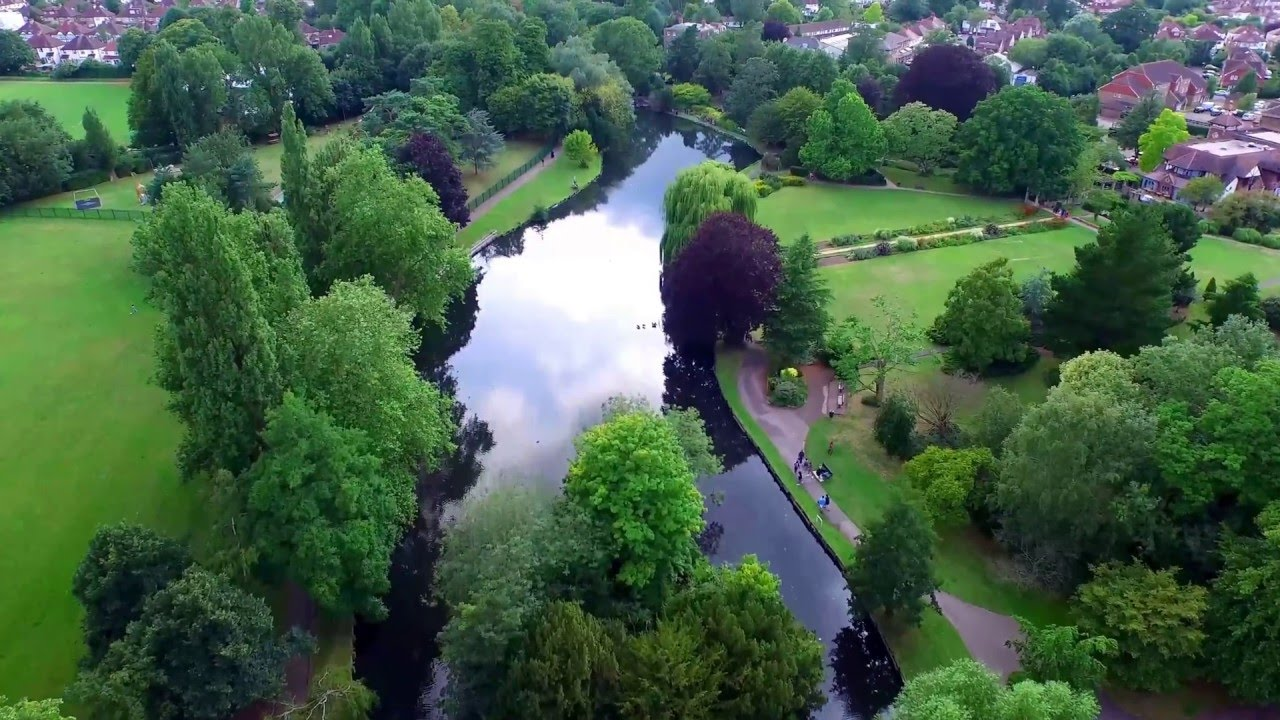 Beddington Park Aerial View