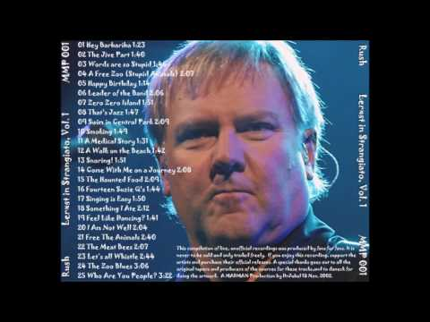 Rush - Lerxst In Strangiato (Volume 1)