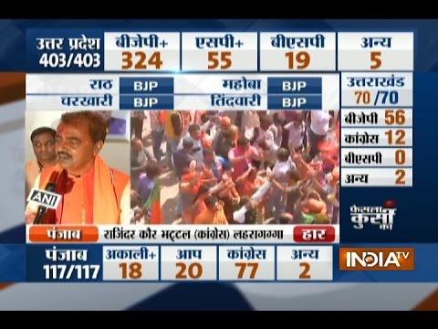 UP Election Results 2017: The credit goes to PM Modi, BJP workers and people of UP says KP Maurya