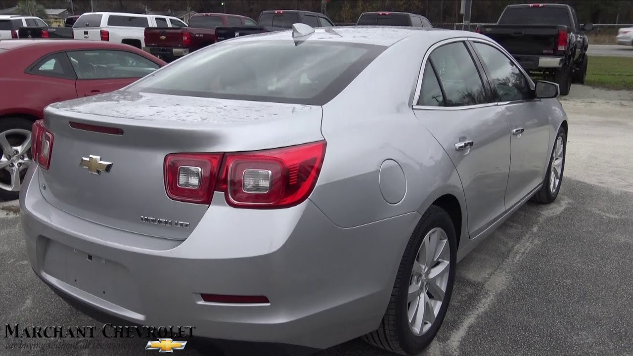 2016 Chevrolet Malibu Ltz For Review At Marchant Chevy December 2017