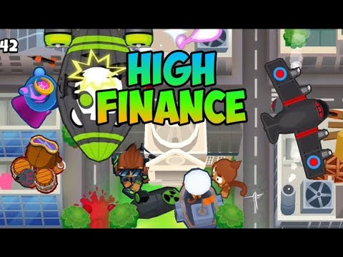 Bloons TD 6 - NEW MAP - HIGH FINANCE HARD -