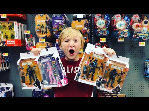 FORTNITE TOY HUNTING & Shopping For The Ultimate Fortnite Battle Royale Birthday Party #FORTNITEIRL