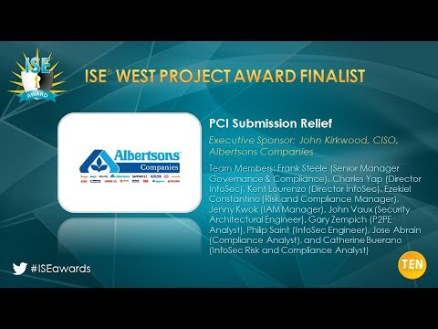 ISE West 2018 Project Finalist - Albertsons Companies