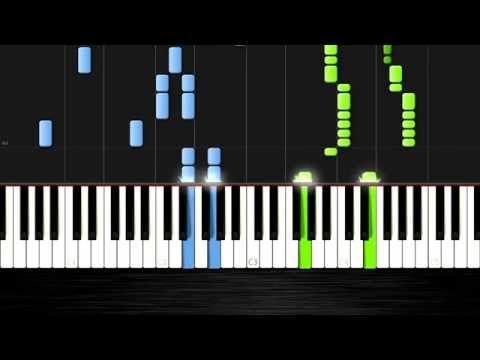 David Guetta - Dangerous  - Piano Cover/Tutorial by PlutaX - Synthesia