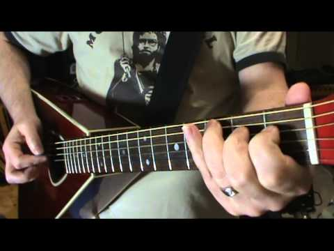 Bluegrass Acoustic Guitar Lessons Over C & D Chords By Scott Grove