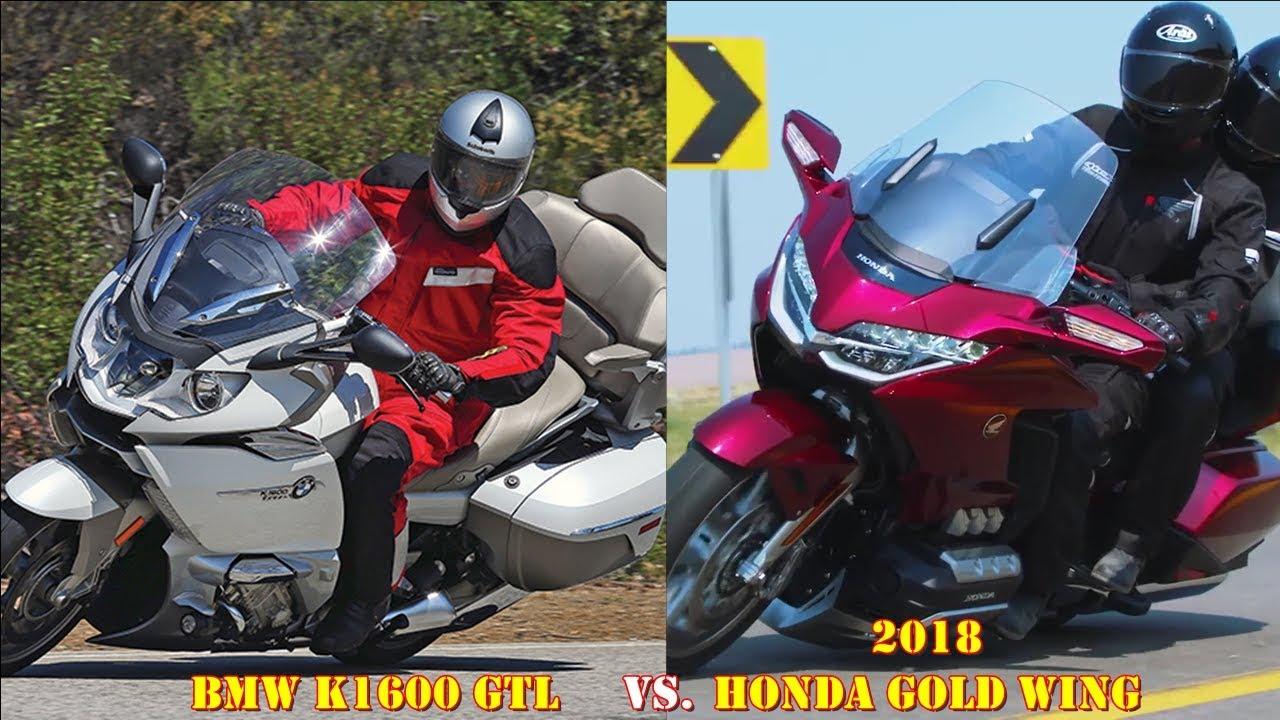 Bmw 1600 gtl vs honda goldwing