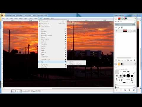 Easy Noise Reduction in GIMP - YouTube