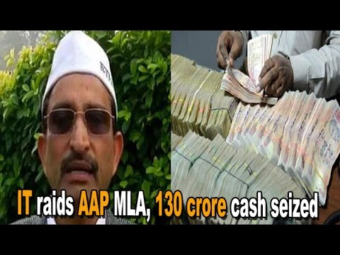 IT Dept Finds Unaccounted Wealth of Rs 130 Crore With AAP MLA : NewspointTV