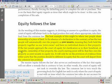 Law Equity Contract Trust Part4