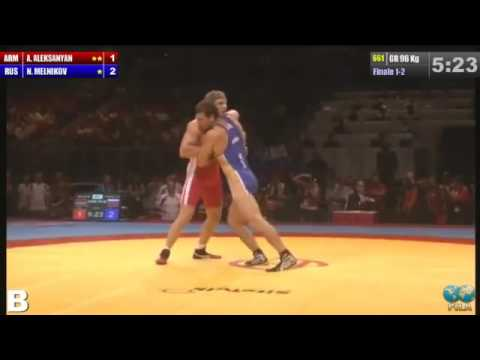 ЧМ 2013 96 кг. Никита Мельников Артур Алексанян (Армения) золото