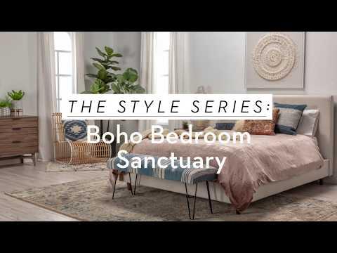 The Style Series: Boho Bedroom Sanctuary