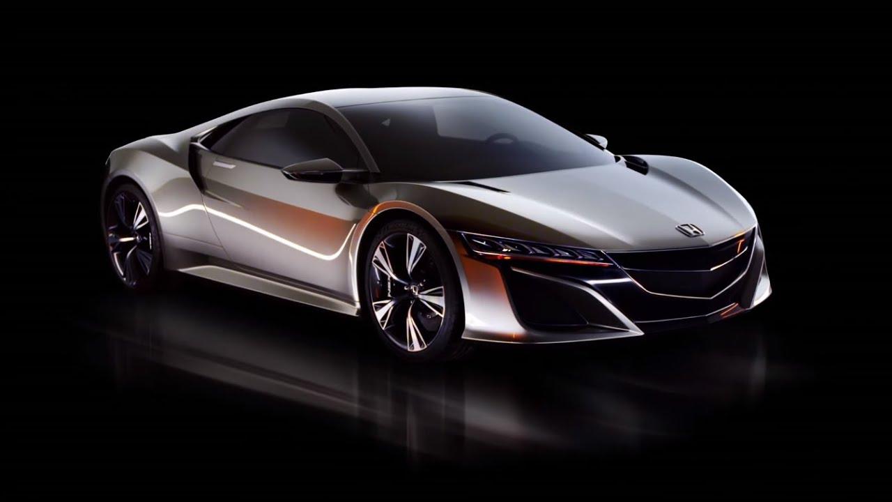 Honda nsx concept official trailer
