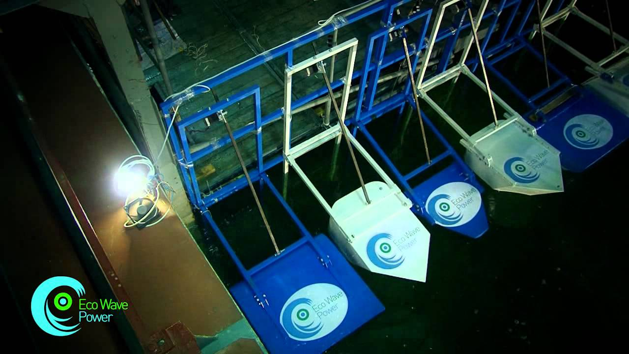 Eco Wave Power Small Scale Wave Energy Generation System