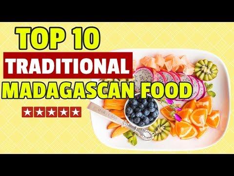 Traditional Food in Madagascar